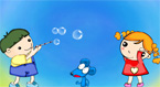 Blowng bubbles