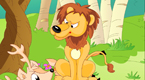 泉边的鹿和狮子