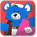 布袋熊染色