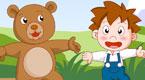 金娃娃和小熊跳舞
