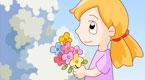 采一束鲜花