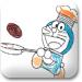 机器猫厨师画
