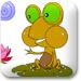 青蛙和荷花
