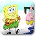 海绵宝贝弹吉他