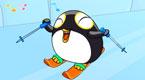 可爱的小企鹅