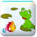 青蛙和鲤鱼