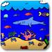 海里动物画画