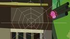 小蜘蛛织网