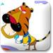 小老虎喝水