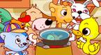 小花猫煮鱼汤
