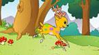 可爱的五色鹿