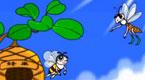 黄蜂和蜜蜂