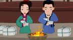 祭祖节的故事之蔡莫烧纸
