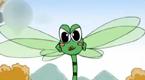 蜻蜓飞来了
