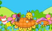 苍蝇和蜜蜂