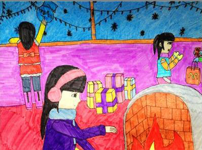 去布置教室呢?圣诞树是不是也要准备起来呢?下面就跟苏苏一起来看