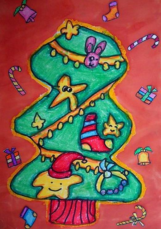来自星星的圣诞树