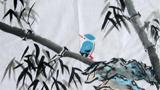 竹子的儿童画-四季常青的竹子