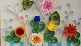 围栏里的花朵
