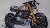 马克笔摩托车