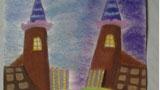 儿童画城堡图片大全-美丽的巧克力城堡