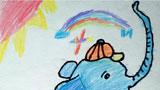 骑自行车的大象