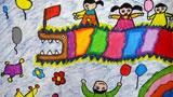春节和小伙伴舞龙狮