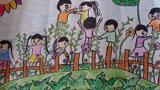 班级同学一起来植树
