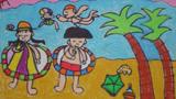 六一去海边玩