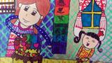 感恩节儿童画设计