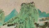 春夏秋冬儿童画-湖山青夏