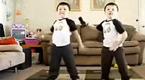 双胞胎兄弟的销魂舞蹈