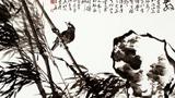 竹子的儿童画-山中翠竹