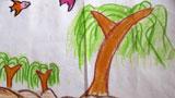 春天的柳树