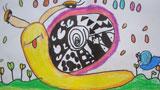 春天的小蜗牛