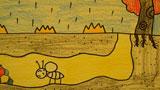 躲雨的小蚂蚁