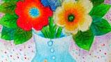 花瓶与花朵