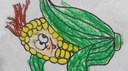 调皮的玉米