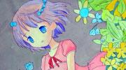 梦幻小女孩