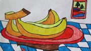 可爱的香蕉