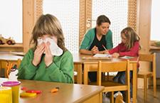 刚开学就感冒 为什么孩子刚上幼儿园容易生病