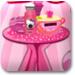 布置粉红睡房