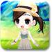 草原上的小女孩
