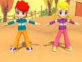 韩国幼儿舞蹈动画教学视频4