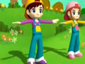 韩国幼儿舞蹈动画教学视频8