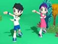 韩国幼儿舞蹈动画教学视频14