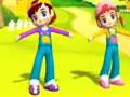 韩国幼儿舞蹈动画教学视频17