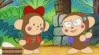 淘气猴的金斧和银斧