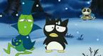 酷企鹅的蚂蚁和蟋蟀