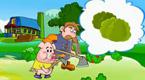 第二只小猪种蔬菜